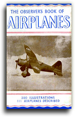 Buy The Observer's Book of Airplanes - 1945 Edition