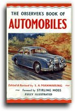 Buy The Observer's Book of Automobiles - 1958 Edition