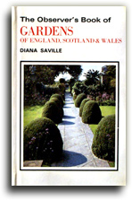 Buy The Observer's Book of Gardens of England Scotland and Wales